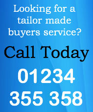 Tailor made buying service