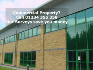 Call us for a commercial property survey 01234 355 358
