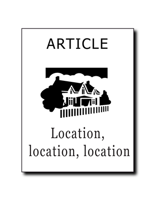Article - Location, Location, Location