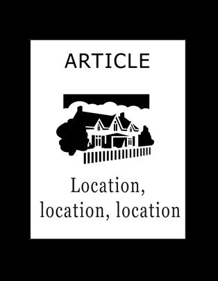 Article - Location, Location, Location
