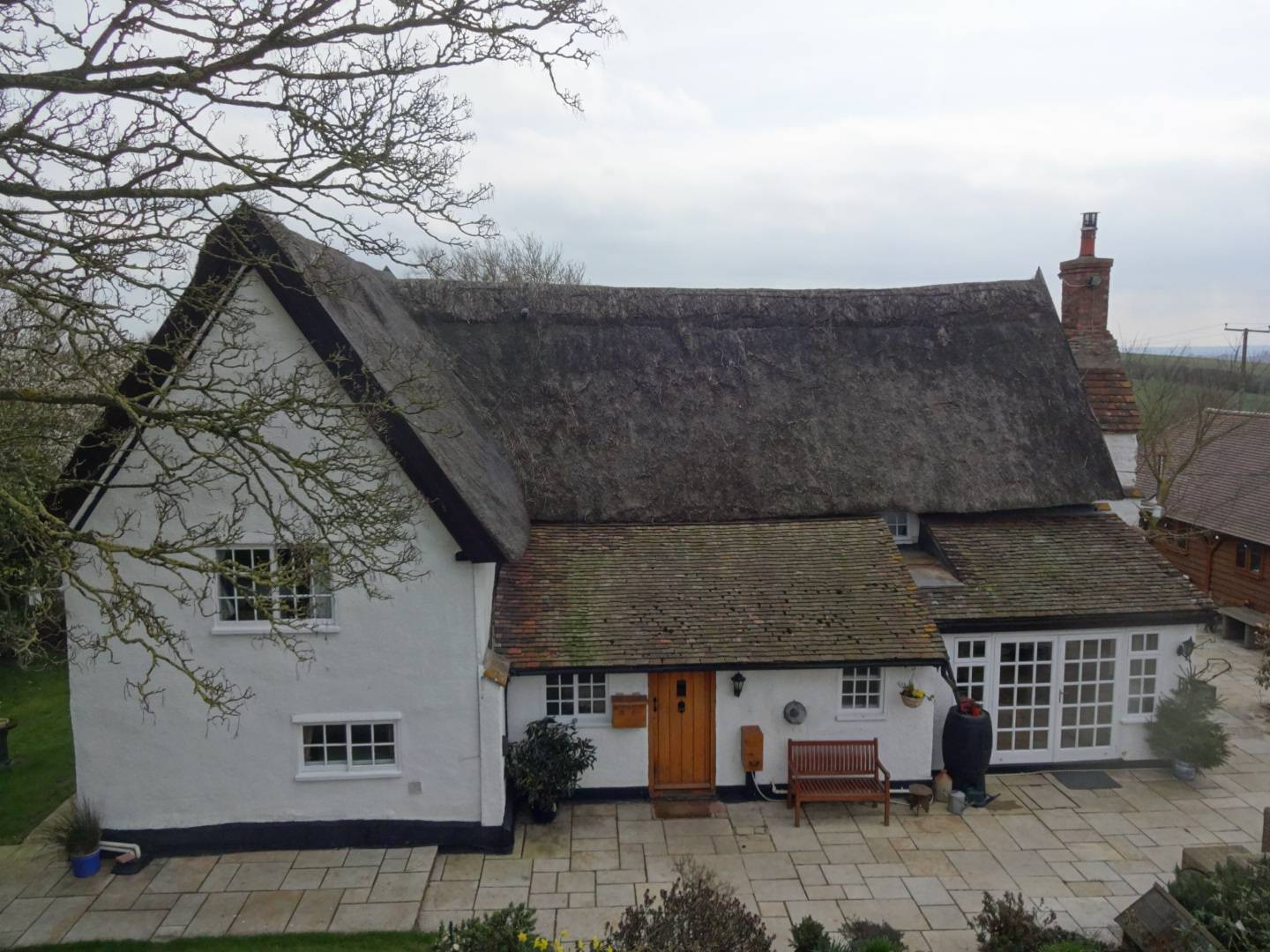 Grade II Listed Thatched farm house